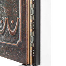 Style front doors doors with special surfaces COPPER | Entrance doors | ComTür