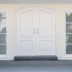 Style front doors Custom made segemental arched door CLASSIC | Entrance doors | ComTür