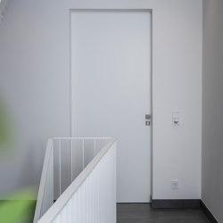 Modern entrance doors frameless doors FLAT | Front doors | ComTür
