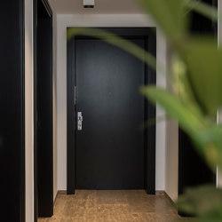 Modern entrance doors Design doors in black INTRA | Front doors | ComTür