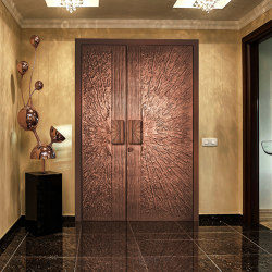 Style entrance doors doors with special surfaces COPPER | Front doors | ComTür