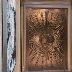 Style entrance doors doors with special surfaces COPPER   Front doors   ComTür