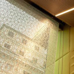 i-Mesh Curtains | Panel glides | i-mesh
