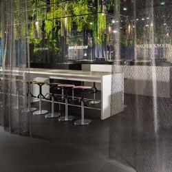 i-Mesh Room Divider   Panel glides   i-mesh