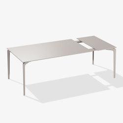 AllSize tavolo rettangolare in alluminio verniciato | Tavoli pranzo | Fast