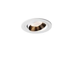 Aprilia Round Fire-Rated | Matt White | Recessed ceiling lights | Astro Lighting