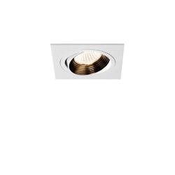 Aprilia Square Fire-Rated | Matt White | Recessed ceiling lights | Astro Lighting