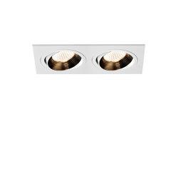 Aprilia Twin 3000K | Matt White | Lampade soffitto incasso | Astro Lighting