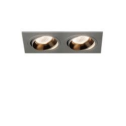 Aprilia Twin 2700K | Anodised Aluminium | Recessed ceiling lights | Astro Lighting