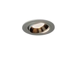 Aprilia Round 2700K | Anodised Aluminium | Recessed ceiling lights | Astro Lighting