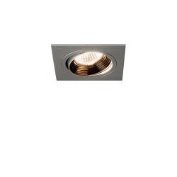 Aprilia Square 2700K | Anodised Aluminium | Recessed ceiling lights | Astro Lighting