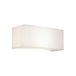 Ashino Wide | White Fabric | Lampade parete | Astro Lighting