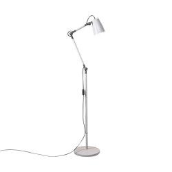 Atelier Floor Base | Matt White | Free-standing lights | Astro Lighting