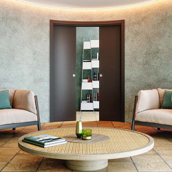 ARKIMEDE Curved sliding system | Internal doors | Ermetika