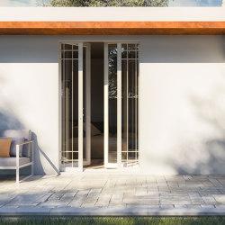 BELLAVISTA Sliding system for gate or shutter with insulation | Patio doors | Ermetika