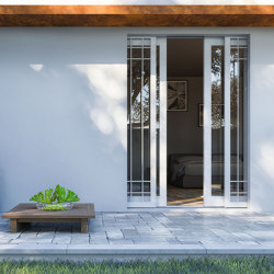 MAXIMA Sliding system for double inner window and outward gate or shutter | Patio doors | Ermetika