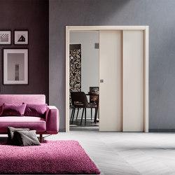 STAFFETTA Classic sliding system for overlapping panels | Internal doors | Ermetika