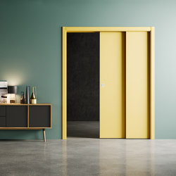 VELIO STAFFETTA Sliding overlapping doors | Internal doors | Ermetika