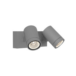Bayville Twin Spot | Textured Grey | Projecteurs | Astro Lighting