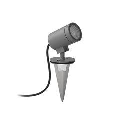 Bayville Spike Spot 12V | Textured Grey | Projecteurs | Astro Lighting