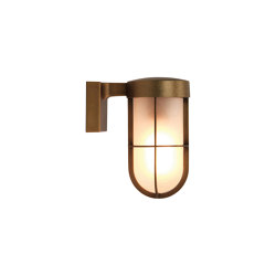 Cabin Wall Frosted | Antique Brass | Outdoor wall lights | Astro Lighting