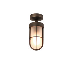 Cabin Semi Flush Frosted | Bronze | Outdoor ceiling lights | Astro Lighting