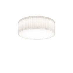 Cambria 380 | White Fabric (Pleated) | Ceiling lights | Astro Lighting