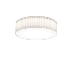 Cambria 480 | White Fabric (Pleated) | Ceiling lights | Astro Lighting