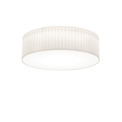 Cambria 580 | White Fabric (Pleated) | Ceiling lights | Astro Lighting