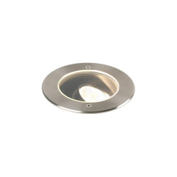 Cromarty 120 LED | Brushed Stainless Steel | Outdoor recessed floor lights | Astro Lighting