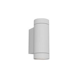 Dartmouth Twin GU10 | Textured White | Outdoor wall lights | Astro Lighting