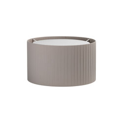 Drum 400 Pleated | Putty | Suspended lights | Astro Lighting