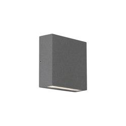 Elis Single LED   Textured Grey   Outdoor wall lights   Astro Lighting