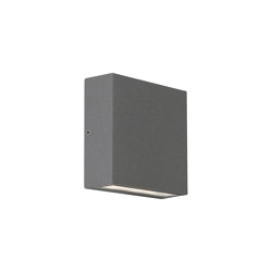 Elis Twin LED   Textured Grey   Outdoor wall lights   Astro Lighting