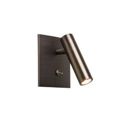 Enna Square Switched LED | Bronze | Lampade parete | Astro Lighting