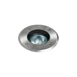 Gramos Round | Brushed Stainless Steel | Outdoor recessed floor lights | Astro Lighting