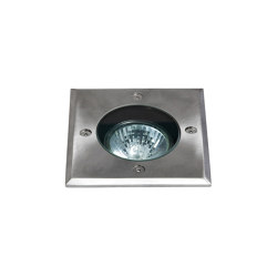 Gramos Square | Brushed Stainless Steel | Outdoor recessed floor lights | Astro Lighting