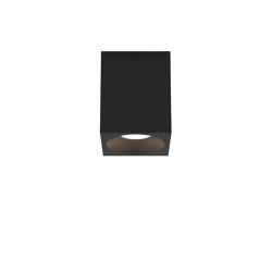 Kos Square 100 LED | Textured Black | Outdoor ceiling lights | Astro Lighting