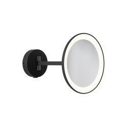 Mascali Round LED | Matt Black | Bath mirrors | Astro Lighting