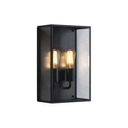 Messina Twin | Textured Black | Outdoor wall lights | Astro Lighting
