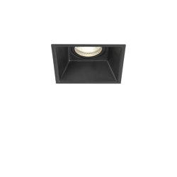Minima Square Fixed | Matt Black | Recessed ceiling lights | Astro Lighting