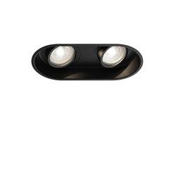 Minima Round Twin Adjustable | Matt Black | Recessed ceiling lights | Astro Lighting
