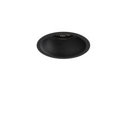 Minima Round Fixed Fire-Rated IP65 | Matt Black | Recessed ceiling lights | Astro Lighting