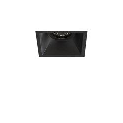 Minima Square Fixed Fire-Rated IP65 | Matt Black | Recessed ceiling lights | Astro Lighting