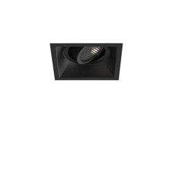 Minima Square Adjustable Fire-Rated | Matt Black | Recessed ceiling lights | Astro Lighting