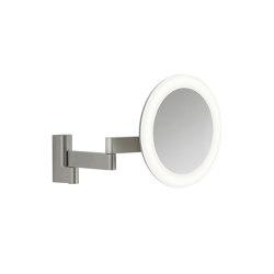 Niimi Round LED | Matt Nickel | Bath mirrors | Astro Lighting