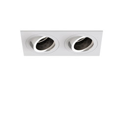 Pinhole Square Twin Adjustable | Matt White | Recessed ceiling lights | Astro Lighting
