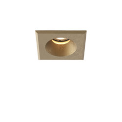 Solway Square | Coastal Brass | Outdoor recessed ceiling lights | Astro Lighting