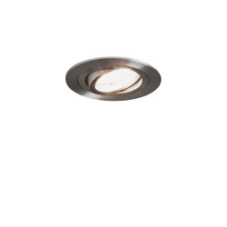 Taro Round Adjustable | Brushed Aluminium | Recessed ceiling lights | Astro Lighting