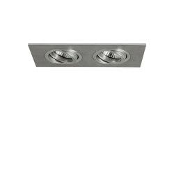 Taro Twin | Brushed Aluminium | Recessed ceiling lights | Astro Lighting